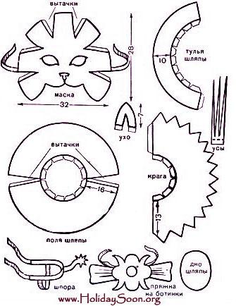 Как сшить костюм кота в сапогах своими