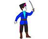 Козак (костюм карнавальный детский)