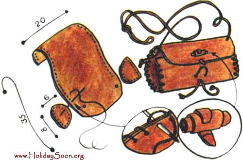 вязание со схемами сумки