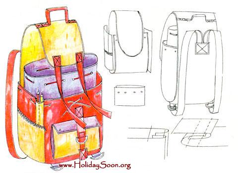 Например, я сделать кикимору могу, а вот сшить рюкзак или палатку - нет.